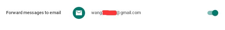 转发Google Voice短信到Gmail