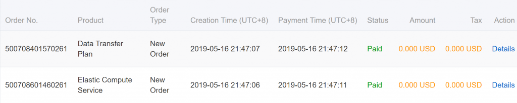 PayPal开通阿里云国际